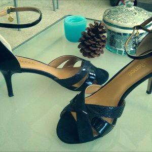 J.Renee ankle strap pumps, size 9.5W